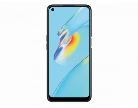 """Смартфон OPPO A54 4/128Gb Crystal Black (Android 10.0/Helio P35 2350MHz/6.51"""" 1600x720/4096Mb/128Gb/4G LTE ) [6944284687264]"""