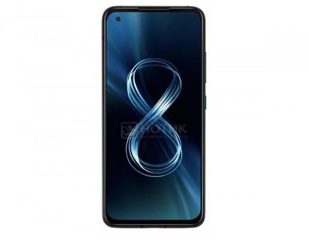 "Смартфон ASUS Zenfone 8 ZS590KS 128Gb Ram 8Gb Obsidian Black (Android 11.0/SDM888 5G 2840MHz/5.90"" 2400x1080/8192Mb/128Gb/5G ) [90AI0061-M00670]"