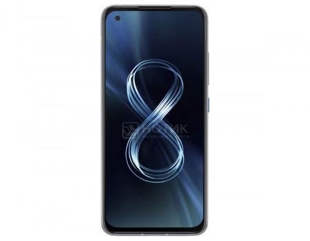 "Смартфон ASUS Zenfone 8 ZS590KS 256Gb Ram 16Gb Horizon Silver (Android 11.0/SDM888 5G 2840MHz/5.90"" 2400x1080/16384Mb/256Gb/5G ) [90AI0063-M00740]"