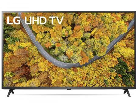 Телевизор LG 50 LED, UHD, Smart TV (webOS), Звук (2x10 Вт), 2xHDMI, 1xUSB, 1xRJ-45, Черный, 50UP76006LC