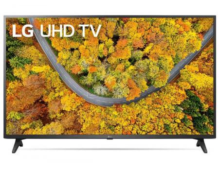Телевизор LG 55 LED, UHD, Smart TV (webOS), Звук (2x10 Вт), 2xHDMI, 1xUSB, 1xRJ-45, Черный, 55UP75006LF