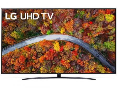 Телевизор LG 75 LED, UHD, Smart TV (webOS), Звук (20 Вт (2x10 Вт)), 3xHDMI, 2xUSB, RJ-45, Черный, 75UP81006LA
