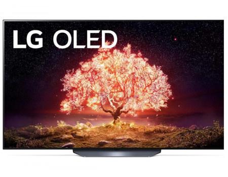 Телевизор LG 65, UHD, OLED. Smart TV (webOS), Звук (40 Вт (2x10 Вт) + 20Вт Саб), 4xHDMI, 3xUSB, 1xRJ-45, Серый, OLED65B1RLA
