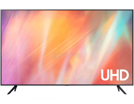 Телевизор Samsung 75 UHD, Smart TV, Звук (20 Вт (2x10 Вт), 3xHDMI, 1xUSB, 1xRJ-45, Титан UE75AU7100UXRU
