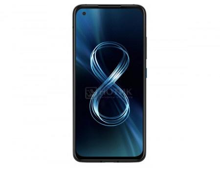 "Смартфон ASUS Zenfone 8 ZS590KS 256Gb Ram 8Gb Obsidian Black (Android 11.0/SDM888 5G 2840MHz/5.90"" 2400x1080/8192Mb/256Gb/5G ) [90AI0061-M00680]"