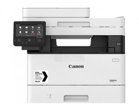 МФУ лазерное монохромное Canon i-Sensys MF445dw A4, ADF, 38 стр/мин, Duplex, Wi-Fi, USB 2.0, факс, БелыйЧерный 3514C061