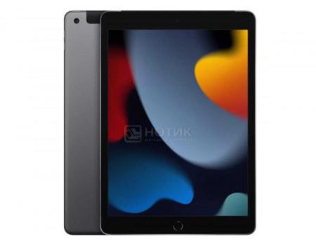 Планшет Apple iPad 10.2 2021 64Gb Wi-Fi + Cellular Space Gray (iPadOS 15/A13 Bionic 2650MHz/10.20