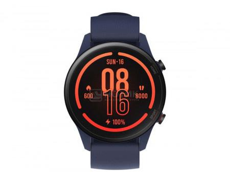 Смарт-часы Xiaomi Mi Watch Navy Blue, Bluetooth, GPS, 420 мАч Синий XMWTCL02, BHR4583GL, X29466