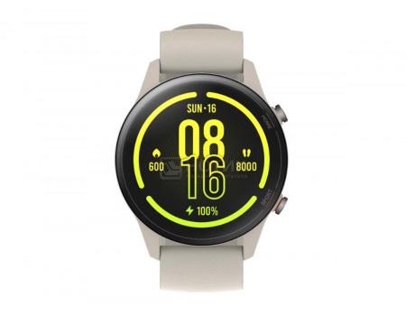 Смарт-часы Xiaomi Mi Watch Beige, Bluetooth, GPS, 420 мАч Бежевый(Белый) XMWTCL02, BHR4723GL, X30258
