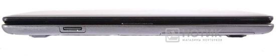Ноутбук Asus N61JQ вид спереди в закрытом состоянии