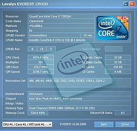 Тест CPU 1-го ядра